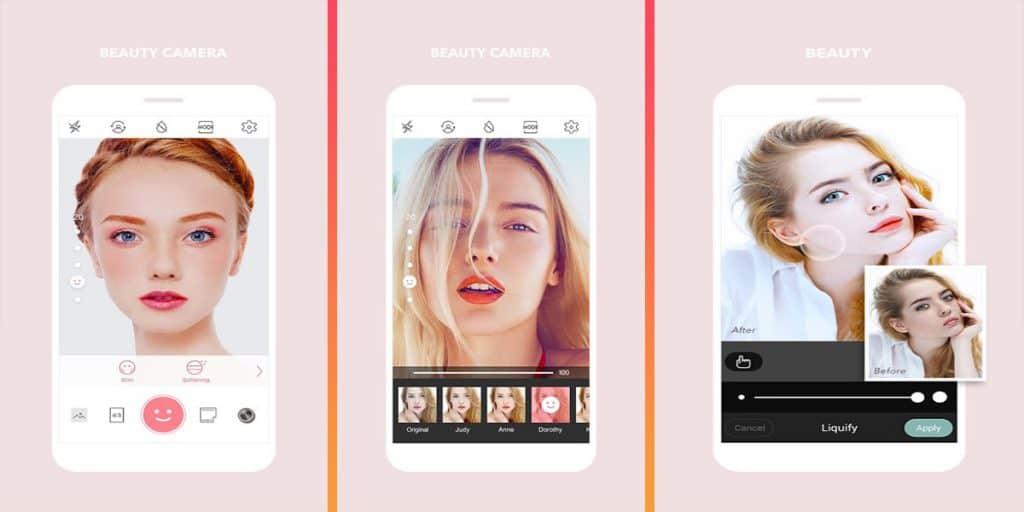 تطبيق Beauty Camera Cymera