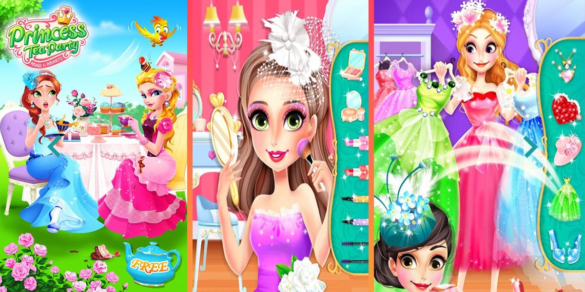 تحميل لعبة Princess Tea Party Salon