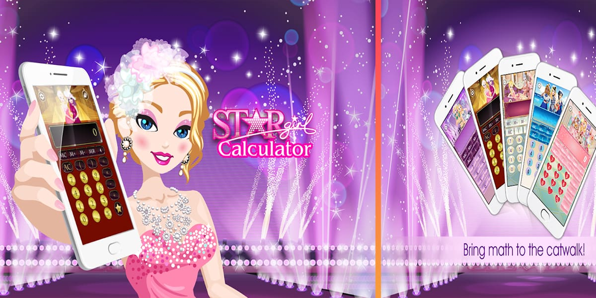 تطبيق Star Girl Calculator