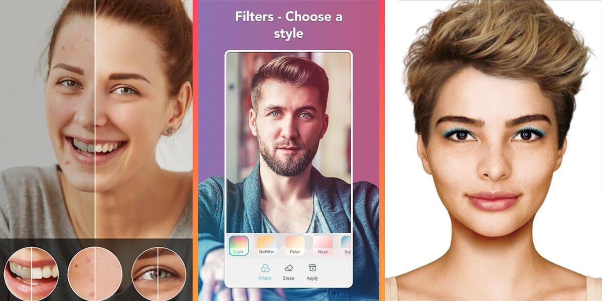 أفضل تطبيقات التعديل على الصور والبشرة على الموبايل