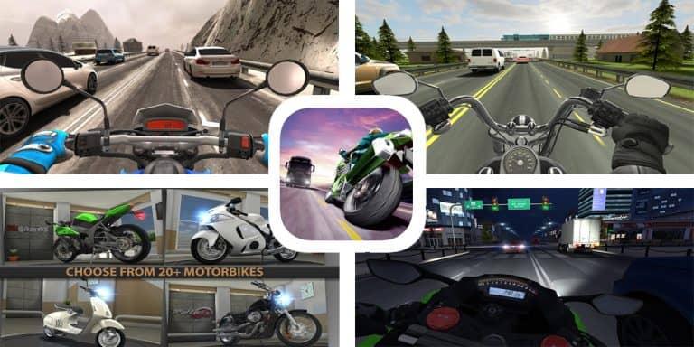 لعبة Traffic Rider