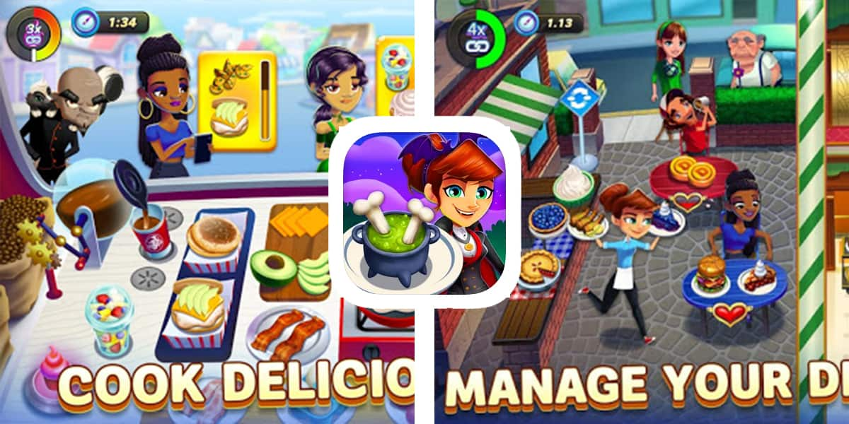 لعبة Diner DASH Adventures