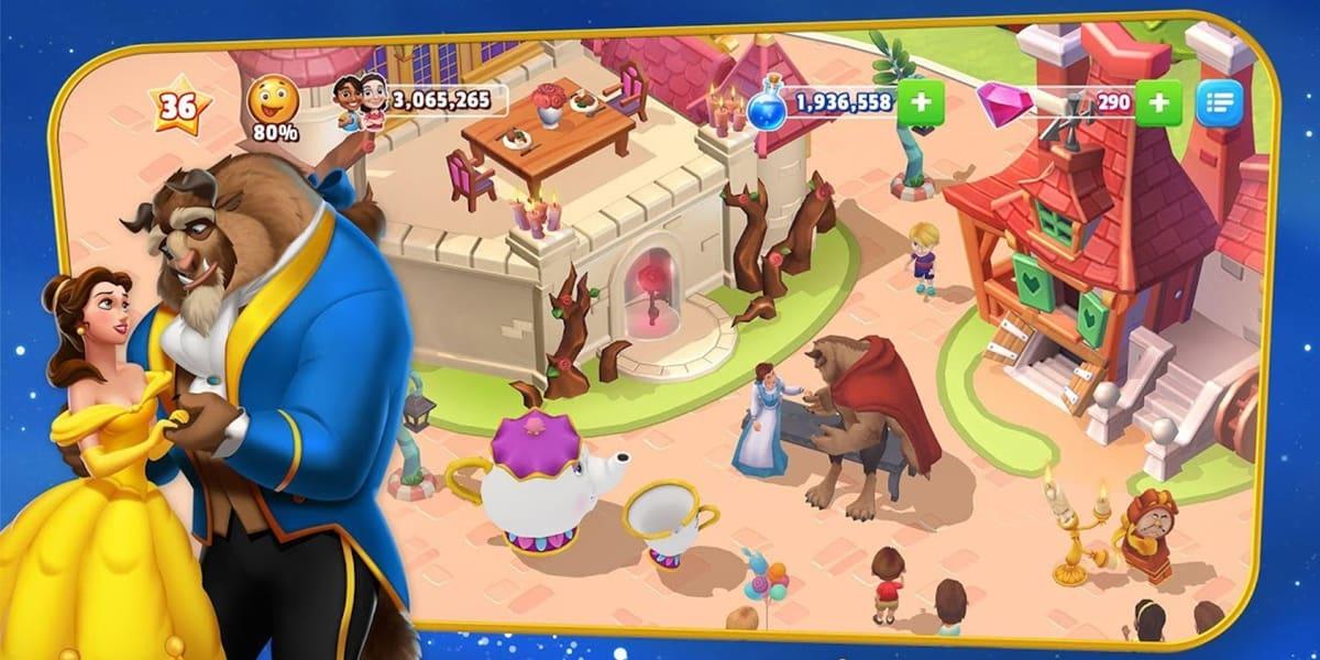 لعبة Disney Magic Kingdoms تحميل أحدث إصدار