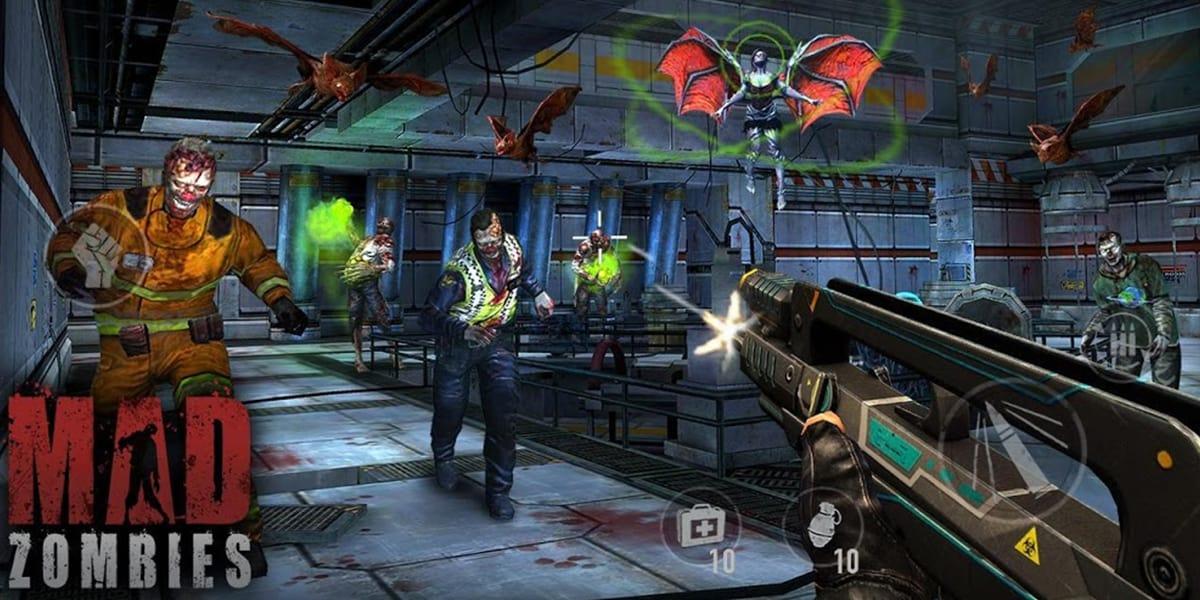 لعبة MAD ZOMBIES تحميل أحدث إصدار