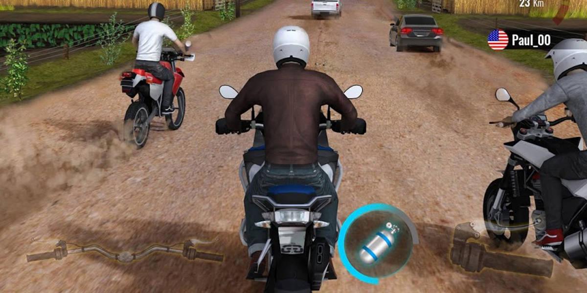لعبة Moto Traffic Race 2