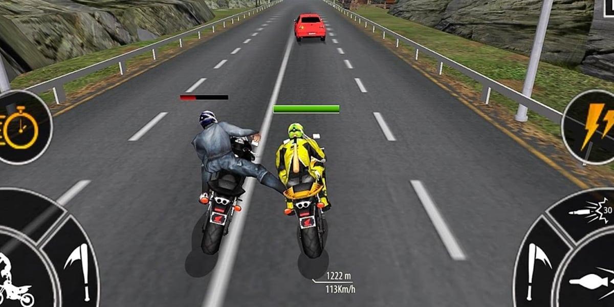 لعبة Traffic bike Racing Ride