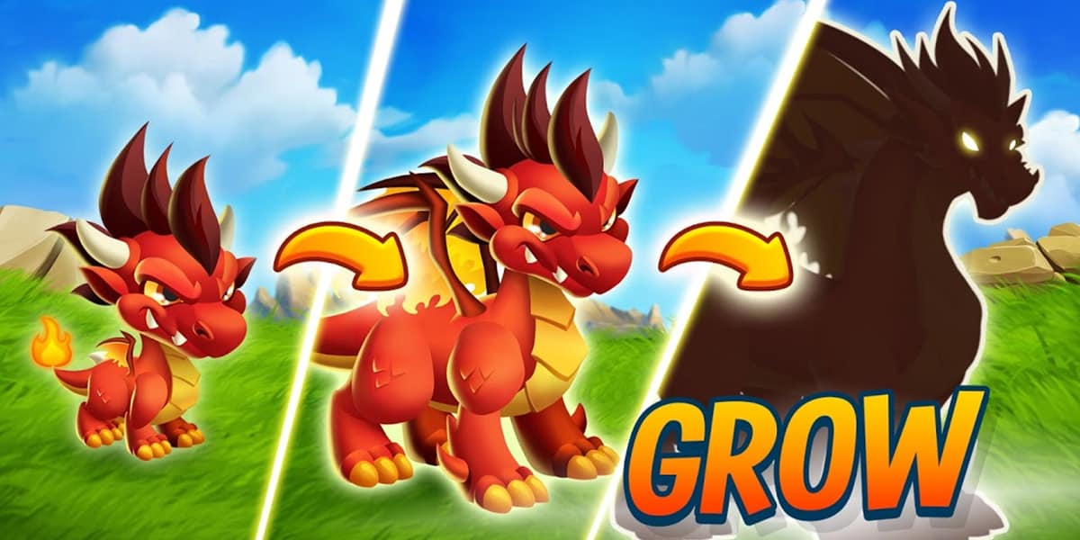 لعبة Dragon City