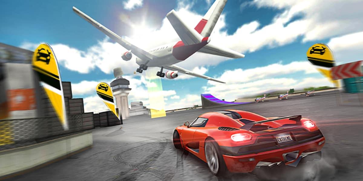 لعبة Extreme Car Driving Simulator