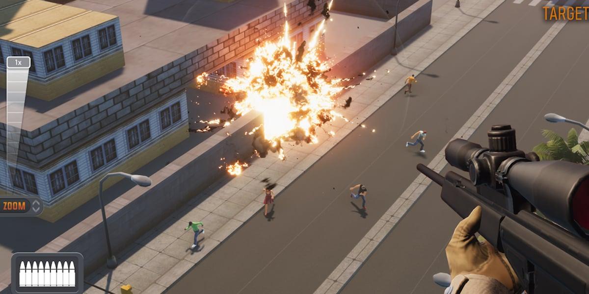 لعبة Sniper 3D Assassin
