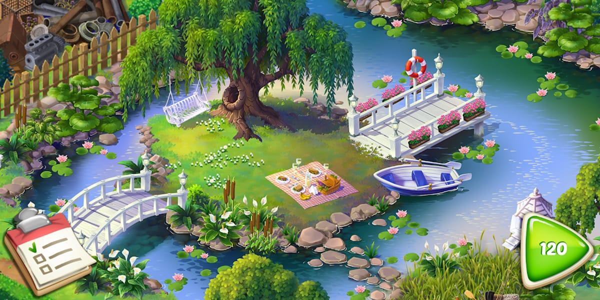 لعبة Lilys Garden