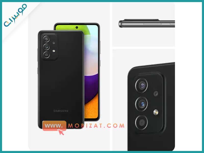 كاميرات هاتف Samsung Galaxy A52