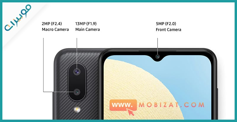 كاميرات Samsung Galaxy A02