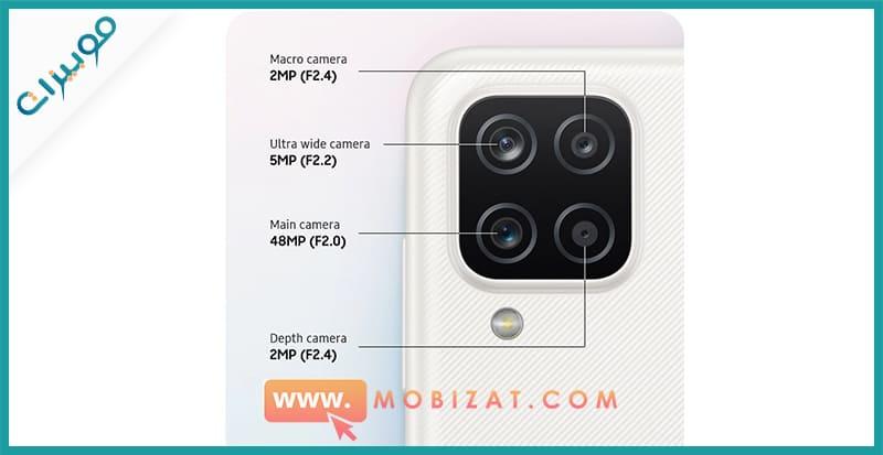 كاميرات Samsung Galaxy A12