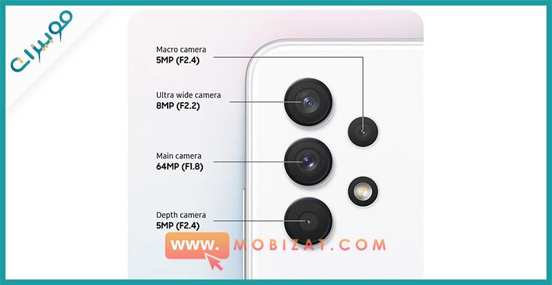 كاميرات Samsung Galaxy A32