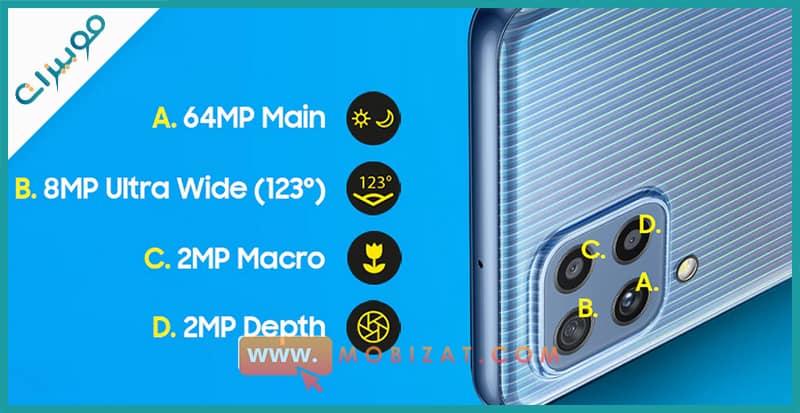 كاميرات Samsung Galaxy M32