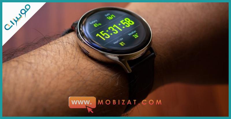 في اليد Samsung Galaxy Watch Active2